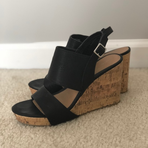 Apt. 9 Shoes - Apt 9 Black Wedges